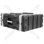 "ABS 19"" Equipment Rack Cases - - 4U - ABS:4U"
