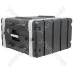 "ABS 19"" Equipment Rack Cases - - 6U - ABS:6U"