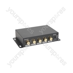 4 Way Composite Video Distribution Amplifier - 4-Way - AD-COM14
