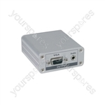 Cat5 VGA/Audio Receiver - AD-VC5R