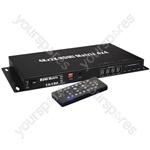 4x4 HDMI 4K Matrix Switch - 4:4 Distribution - HD44