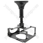 Wall/Ceiling Mount Projector Cradle - bracket - PJMB