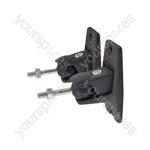 Universal Speaker Brackets - black - UM01