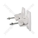 Universal Speaker Brackets - white - UM01