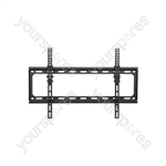 "Tilt TV Wall Bracket - Standard TV/monitor tilted VESA 600x400 32"" - 65"" - ST601"
