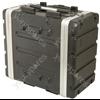"""6U ABS 19"""" Rack Trolley Case - ABS:6UT"""