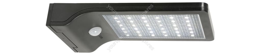Solar led motion sensor security light black 154840uk by lyyt solar led motion sensor security light black workwithnaturefo