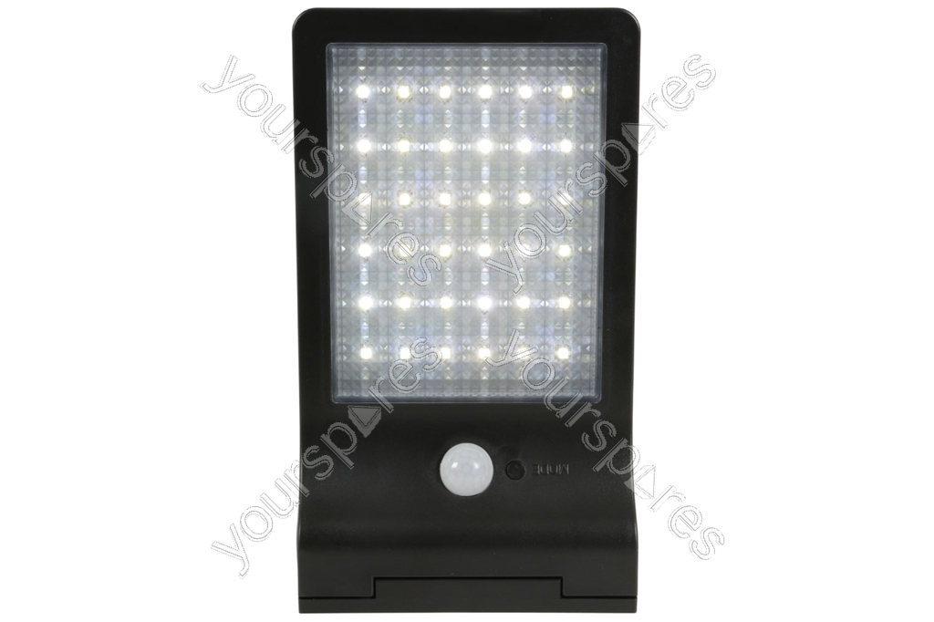 Solar led motion sensor security light black 154840uk by lyyt solar led motion sensor security light black 1649 aloadofball Gallery
