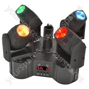 Tetramer - Quad-beam LED Moving Head System