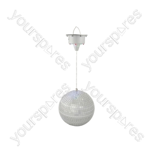 Glow Mirror Ball with LED Motor - GMB-200