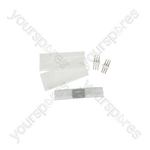 LED Rope Light Coupler - Straight for