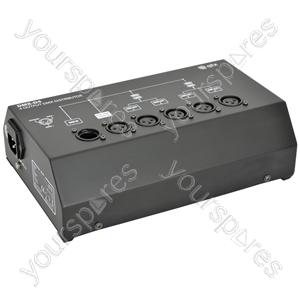 4 Way DMX Booster/Distributor - DMX-D4