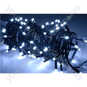 Heavy Duty LED String Lights with Controlller - 90 outdoor - White