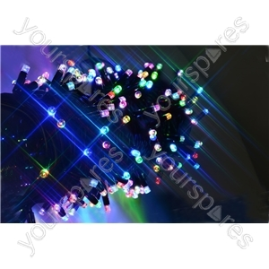 Heavy Duty LED String Lights - 90 colour scroll RGBY - HSL90-RGBY