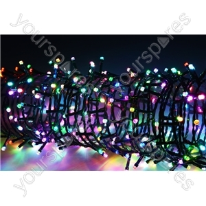 LED String Lights with Auto-timer Control - 100 RGBY - LSL100-RGBY