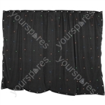 LED Starcloths - 1 x 2m Black with 36 RGB LEDs - SCM2