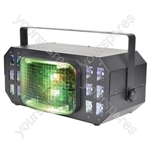Cortina Wide Angle LED Multi Effect - Derby With UV & Strobe