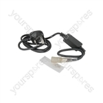 LED Ropelight 3-pin Power Cable 1.5m