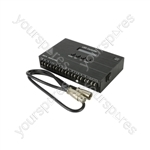 Professional LED Tape Controller with 35 Mode & DMX - RGB - LTC35DMX