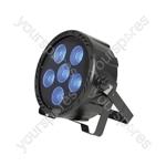 High Power 6 x COB LED Plastic PAR Can - PAR180 3-in-1 - PL-COB6