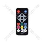 PAR-180 High Power RGB PAR Light with IR Remote - PAR180 RGB+UV - PAR180+UV