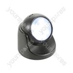 Wireless LED Motion Sensor Light - Black