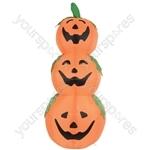 Inflatable 4ft Pumpkins - 3 - IF-PUMPKIN-3