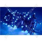 Heavy Duty LED String Lights with Controlller - 180 outdoor - Blue