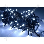 Heavy Duty LED String Lights with Controlller - 180 outdoor - White