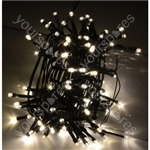 LED String Lights with Auto-timer Control - 100 WW