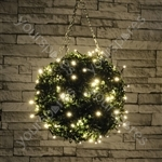 Outdoor LED battery operated String Lights with Timer - 40 Warm White - BLS40WW