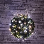 Outdoor LED battery operated String Lights with Timer - 40 Cool White - BLS40CW
