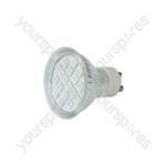 GU10 LED Lamps - 18 x LEDs - yellow - GU10-18YW