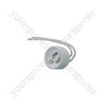 GU10 Lamp Fitting - holder base