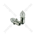 Krypton Torch Bulbs - 2.4V 700mA 2pcs