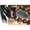 Heavy Duty LED String Lights with Controlller - 180 outdoor - Warm White