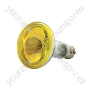 R80 Coloured Reflector Lamps - Lamp, R80, E27, Yellow