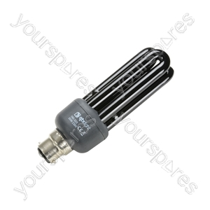 Black Light UV Energy Saving Lamps - light, ultra violet lamp, low energy, BC, 20W