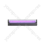 Black Light Tube Holders - (UK version) box, ultra violet, T8, 450mm, 15W - BL450