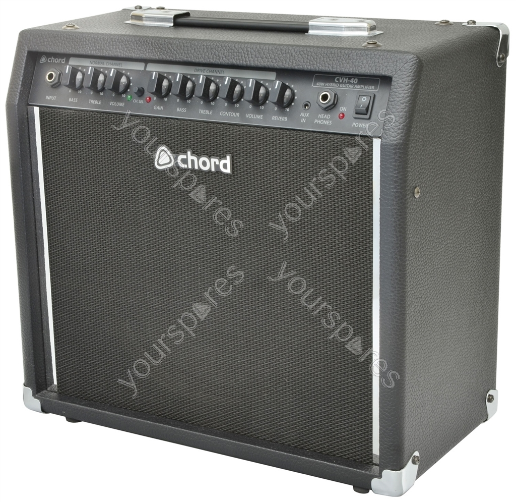 CVH-40 valve hybrid guitar amplifier, 10
