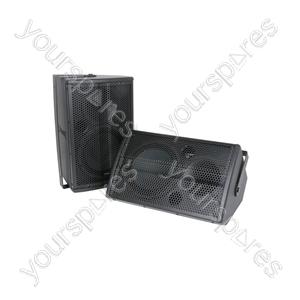 "6.5"" Speakers 80W - Pair - CX-8086 black - CX-8086B"