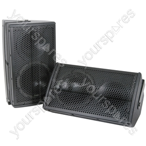 "8"" Speakers 100W - Pair - CX-8088 black - CX-8088B"