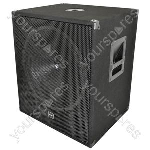 QT Series Active Sub Cabinets - QT18SA 18inch, 1000W