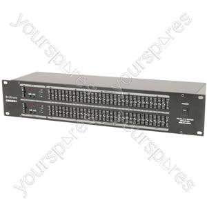 Dual 31-band Graphic EQ - CEQ231 2 x