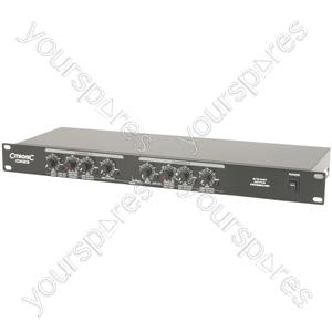 Active Crossover - 2 / 3 Way - CX23 stereo 2-way mono 3-way