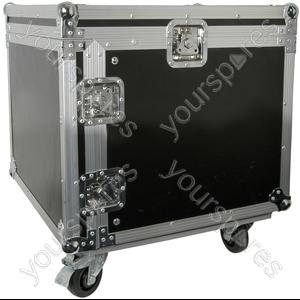 "19"" Equipment Racks with Wheels - 8U case - RACK:8X"