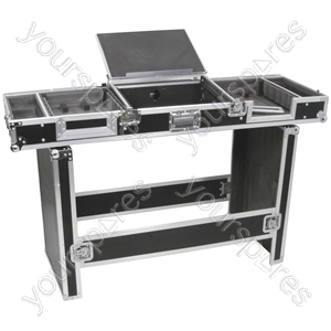"""Universal Coffin Case for 19"""" 8U Mixer and 2 CD Players - CASE:UNI"""
