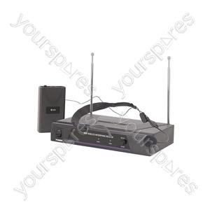 Neckband Microphone VHF Wireless System - - 174.5MHz - VN1