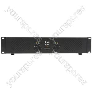 Q Series Stereo Power Amplifiers - Q240 2 x 120W