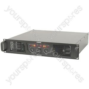 PLX Series Power Amplifiers - PLX2000 amplifier, 2 700W @ 4 Ohms